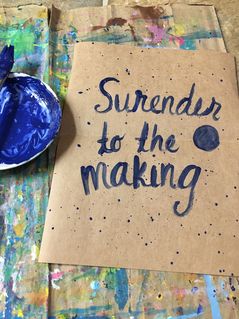 motivational words to keep you creating making art